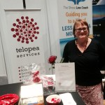 The Telopea Services stand at the 2015 Blue Mountains Business Expo